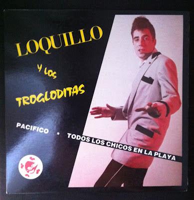 Loquillo y los Trogloditas – Pacífico (1983 – 3 Cipreses) Portada