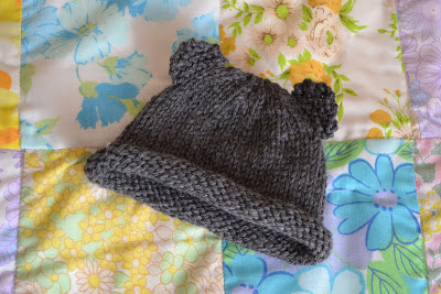 Knitting Pattern Central Baby Hats : BABY BEAR HAT PATTERN   FREE Knitting PATTERNS