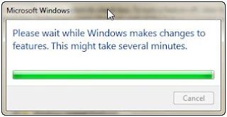 Uninstal Tablet PC component di windows 7