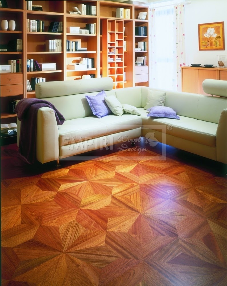 intarzované podlahy