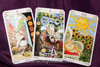 Tarot of the Pagan Cats