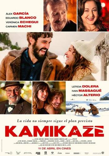Kamikaze película de Álex Pina