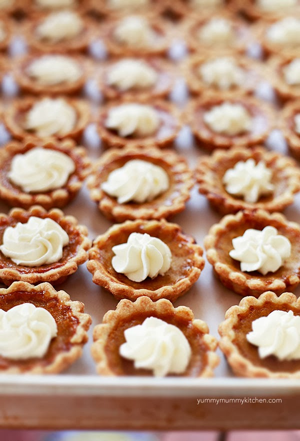 Mini Pumpkin Pies Recipe — Dishmaps