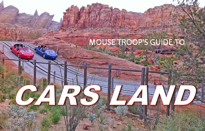 Cars Land Guide DCA Radiator Springs Racers