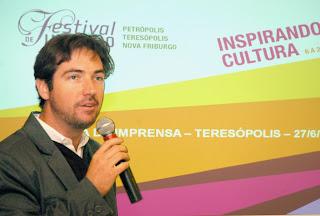 Ricardo Braga, gerente do SESC Teresópolis: Festival de Inverno movimenta a cultura, o turismo e a economia da cidade