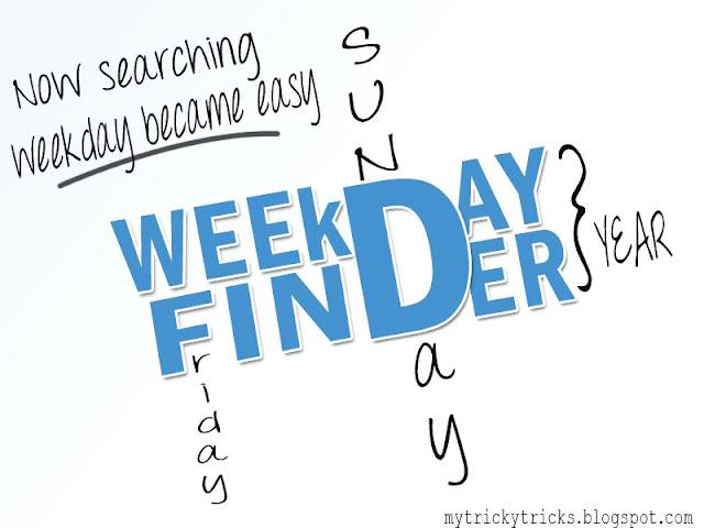 Weekday Finder, Sanket Misal