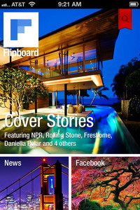 Flipboard amazing Apps for iPhone 5 - Your Social News Magazine