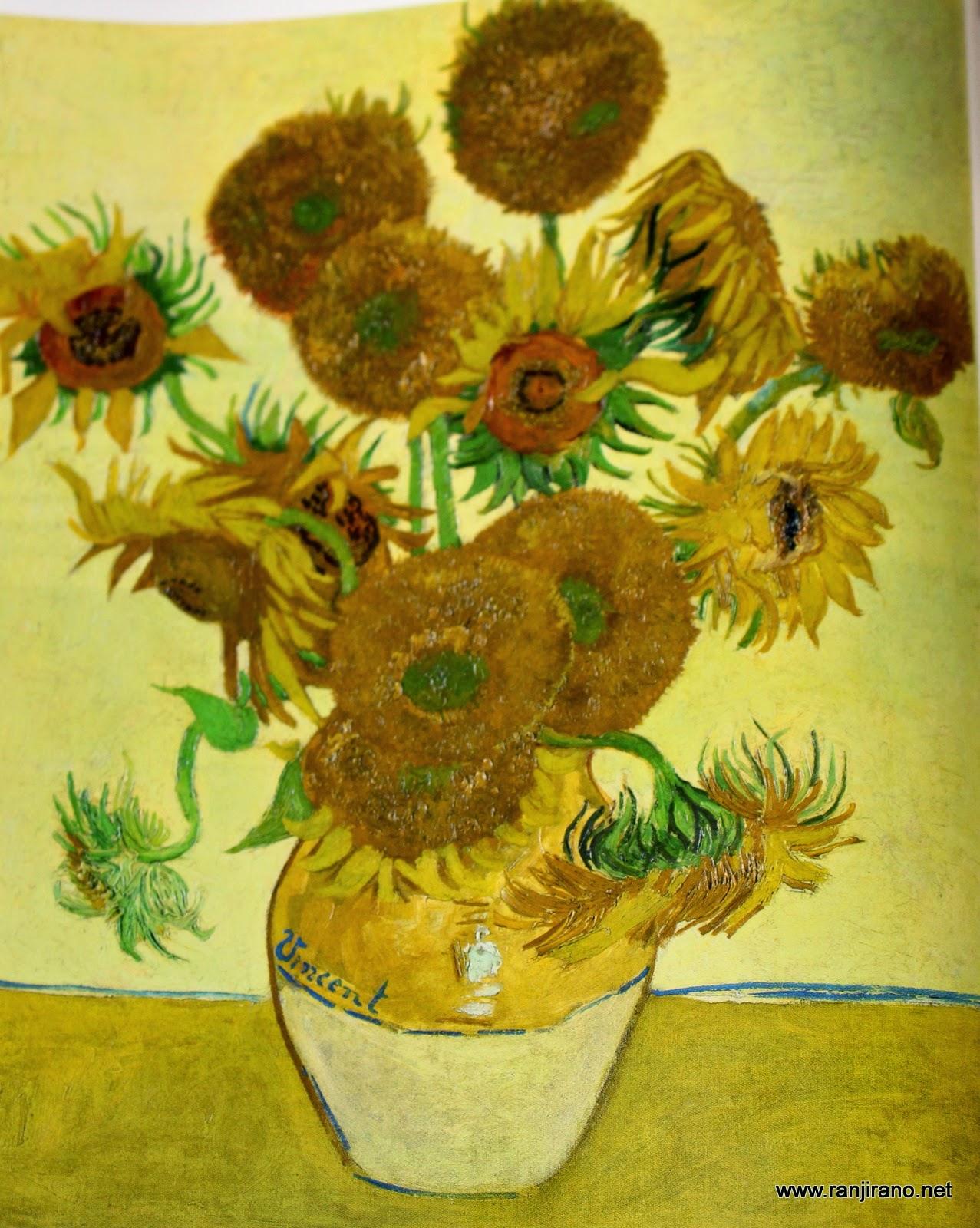 Préférence Des tournesols et un peintre [Van Gogh] | Paysages et Fleurs au  XZ23