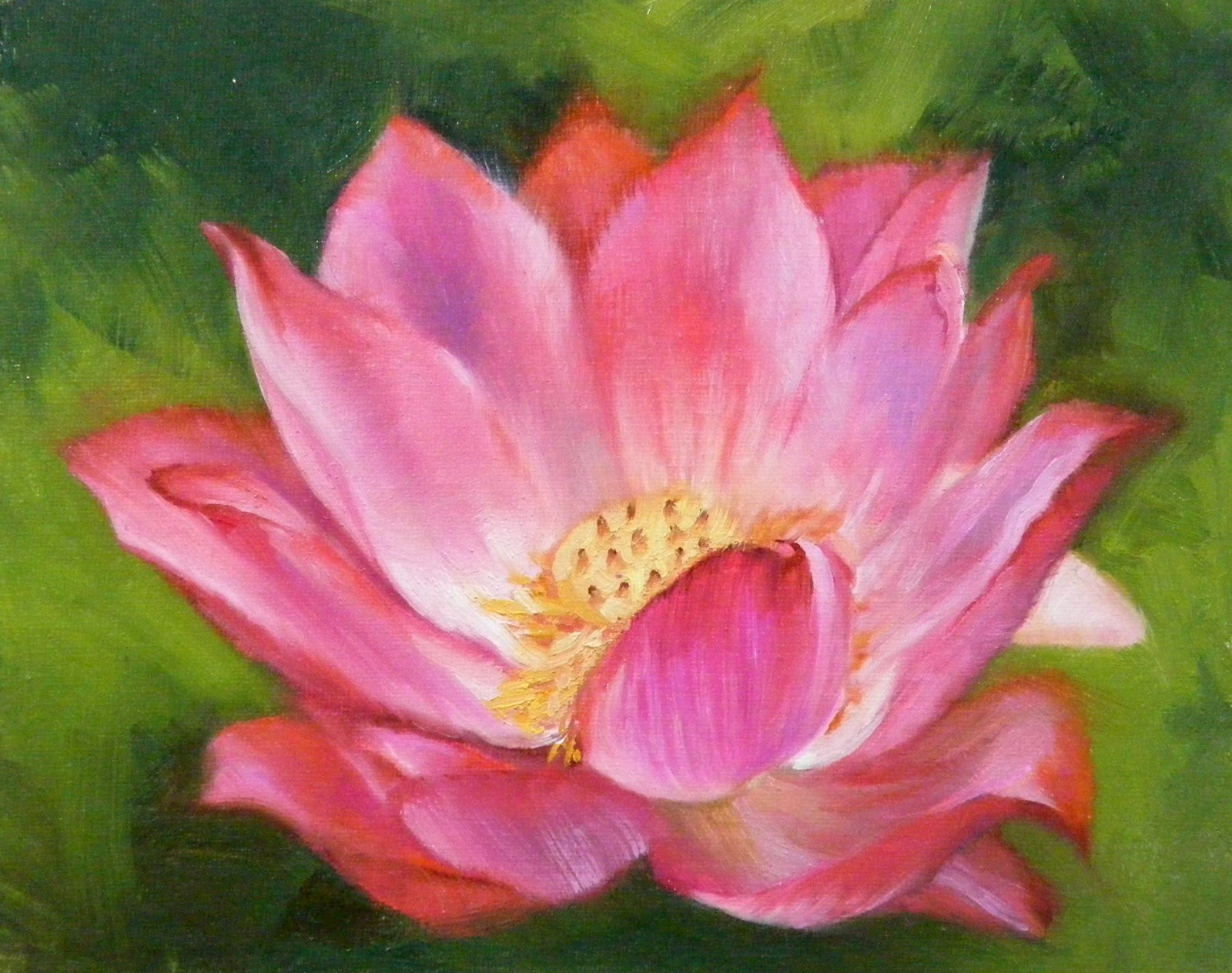 Lotus flower study 1 floral diana delander paintings lotus flower study 1 floral izmirmasajfo