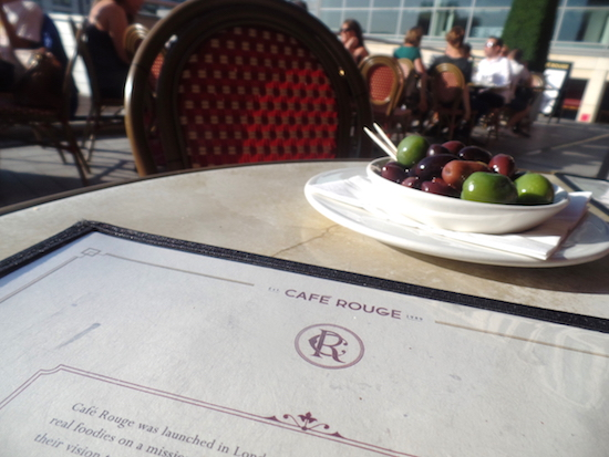Cafe Rouge The Mailbox Birmingham Review