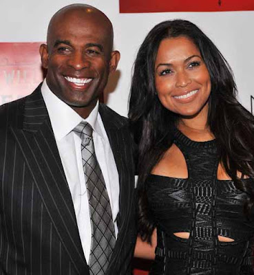 Deion Sanders Dating Tracey Edmonds