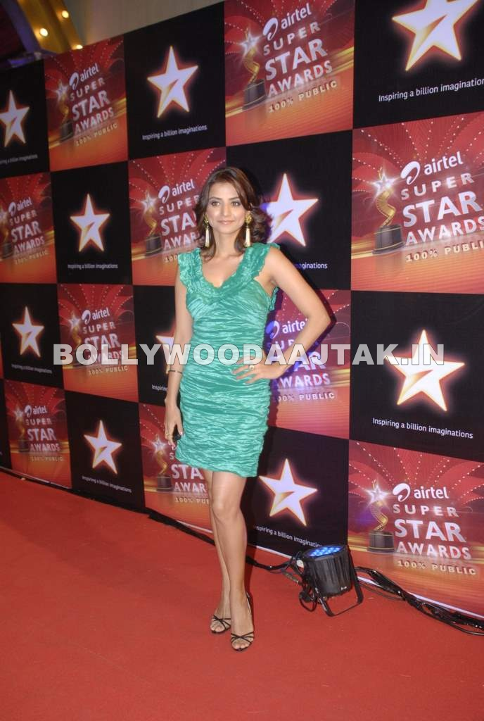 Star Superstar Awards 20111 - Kulraj Randhawa, Anjana Sukhani &amp; Mugdha Godse at Star Superstar Awards 2011