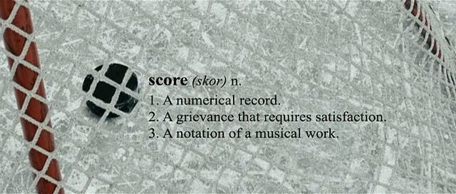 Defintion of Score