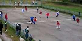 Aspecte de la meciul demonstrativ (Ziua Învăţătorului, Roznov, 5.10.2013...)