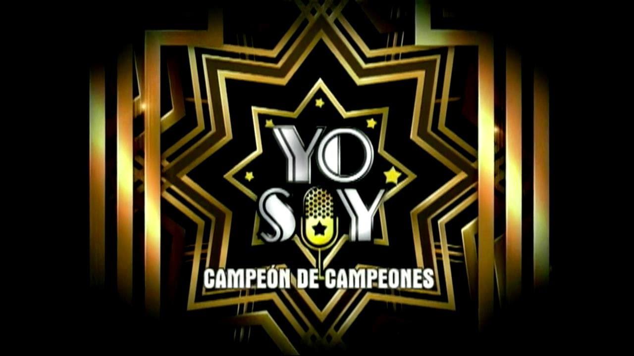 Yo Soy Campeón De Campeones HD programa 01-09-14