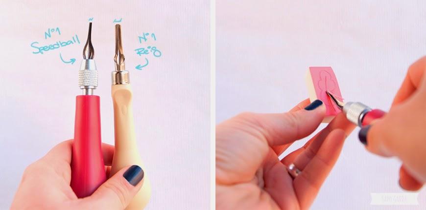 CRAFTERNOON: Haz tus propios sellos! by Sami Garra
