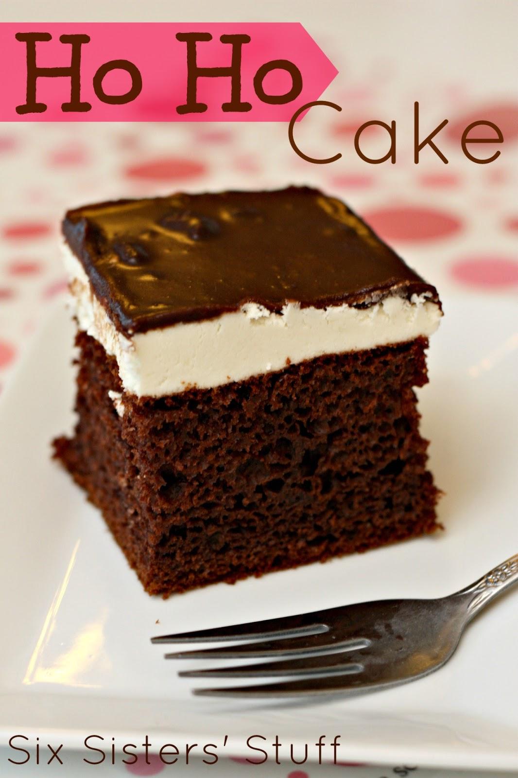 Hostess Ho Ho Cake Recipe