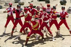 Phim Power Ranger Forever Red
