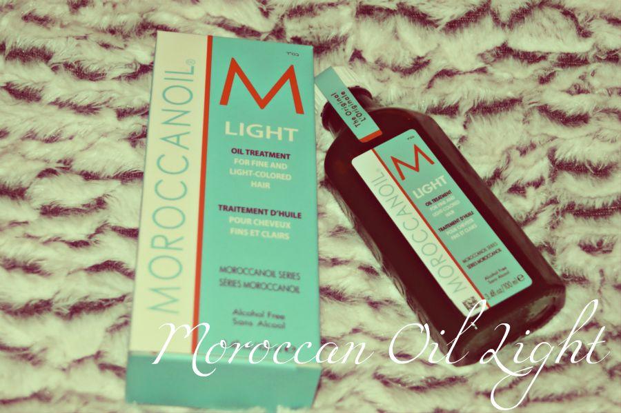moroccanoil light recension