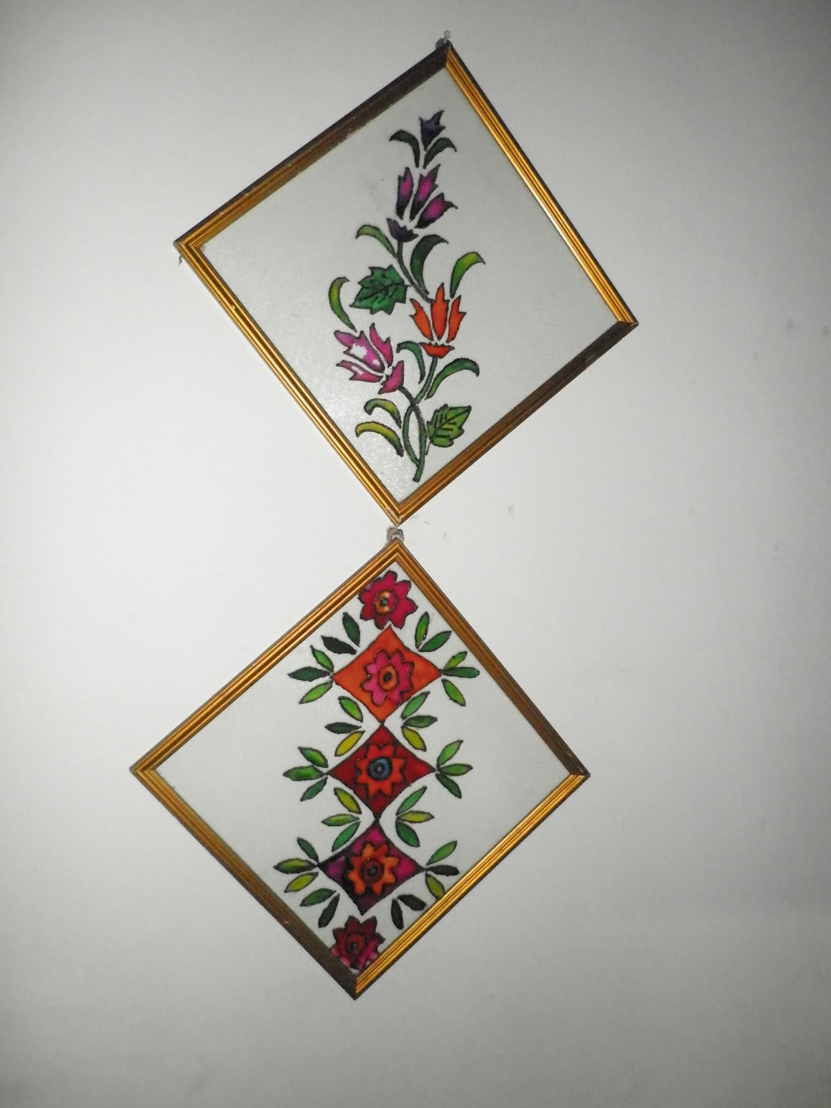 Stained glass painting for Simple glass painting pictures
