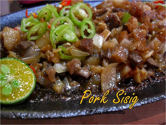 Sisig (Filipino Sizzling Pork) Recipe — Dishmaps