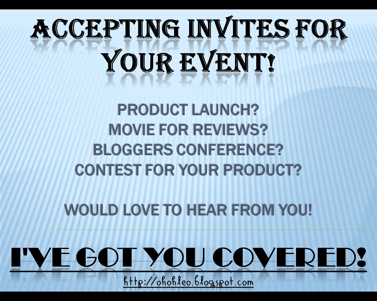 Accepting INVITES!