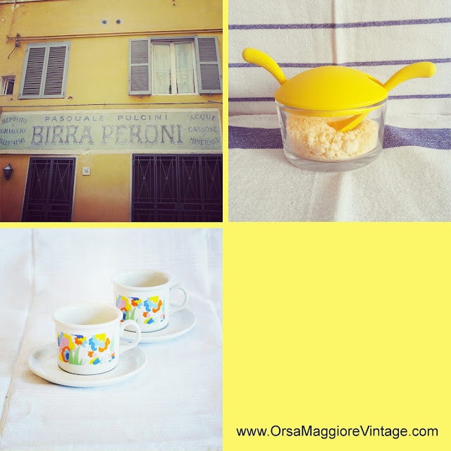 vintage lemon zest