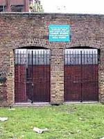 Photo of remains of Marshalsea Prison on lambethcyclists.org.uk