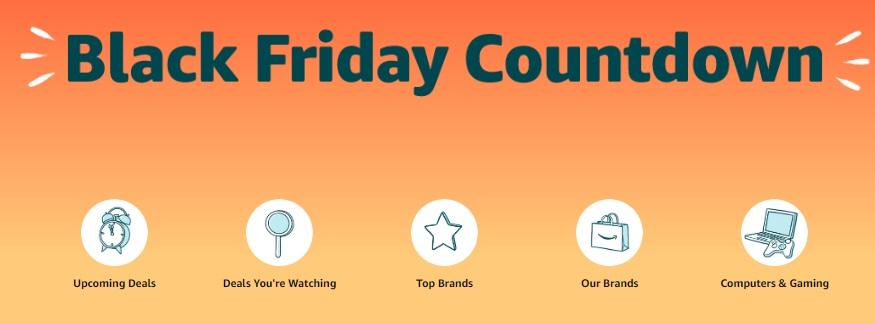 NEW: Amazon Black Friday Countdown