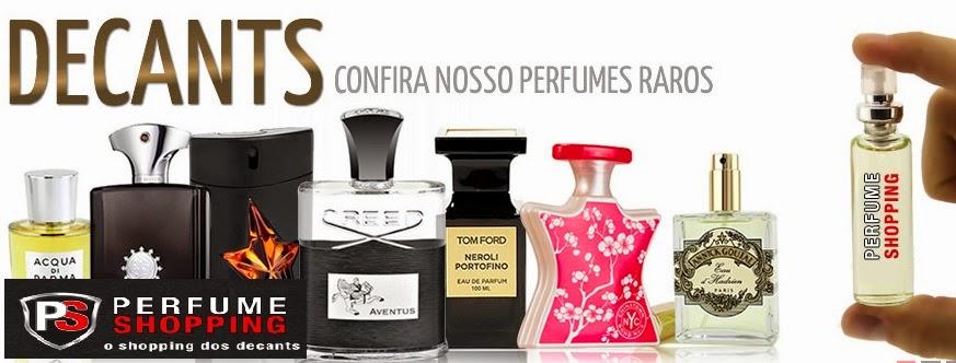 compra de amostras na perfume shopping