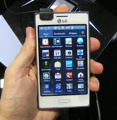 lg optimus hands on l3 e400