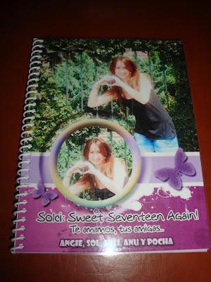 Cuadernos personalizados Sorprendida
