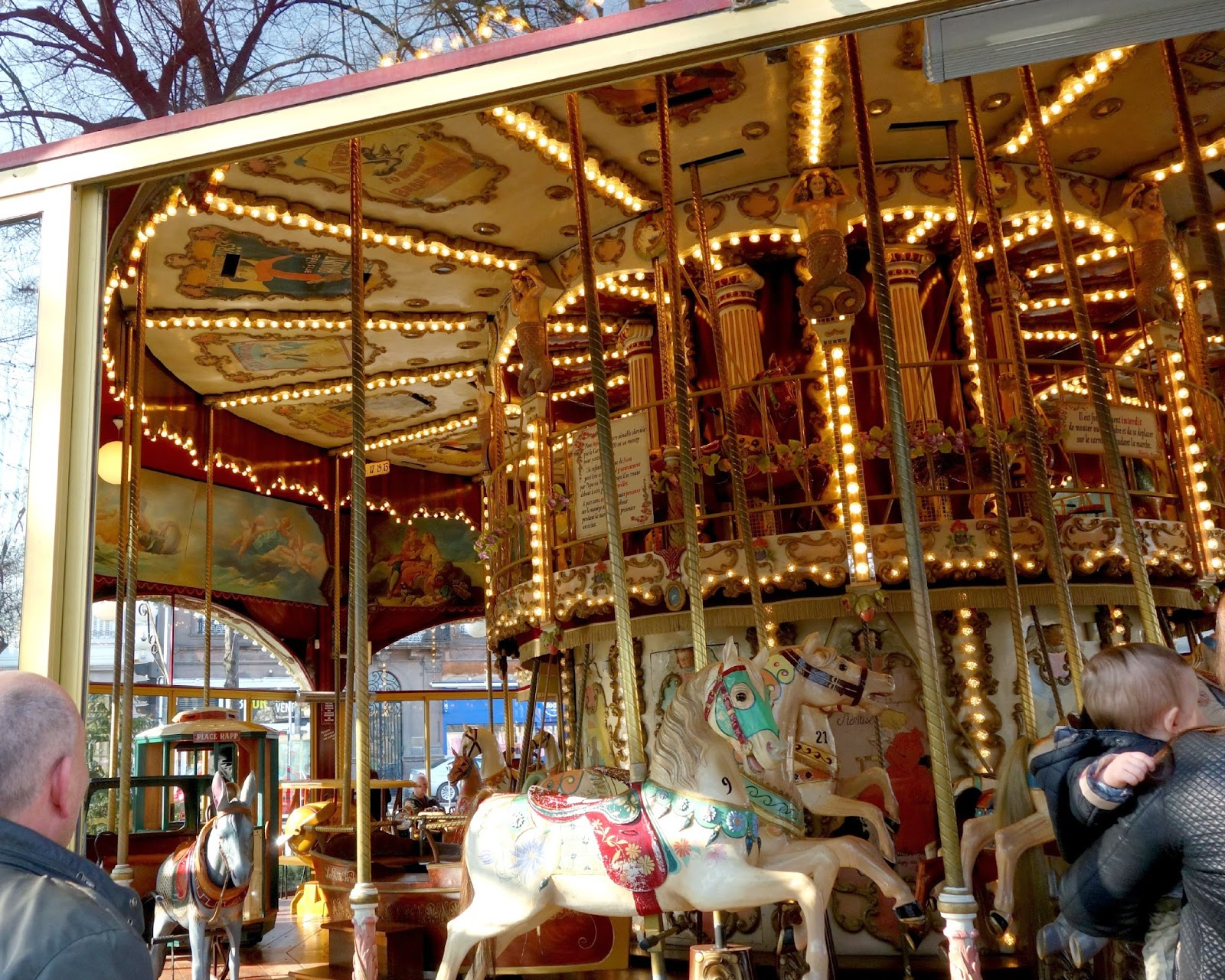 Carousel ~ Colmar ~ Making on the Mountain ~ cymberrain