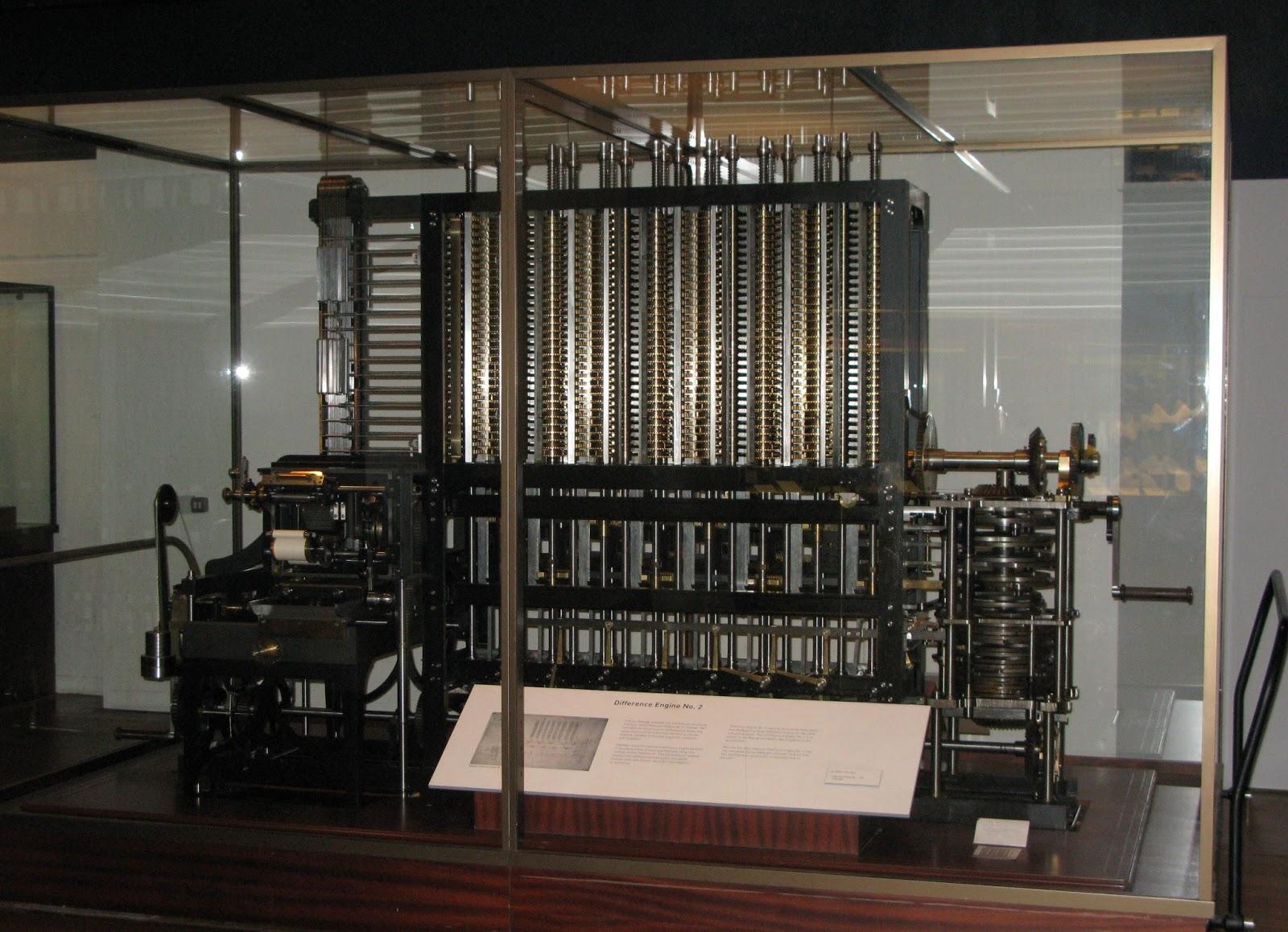Livèpe: [História da computação] Máquina diferencial de Babbage