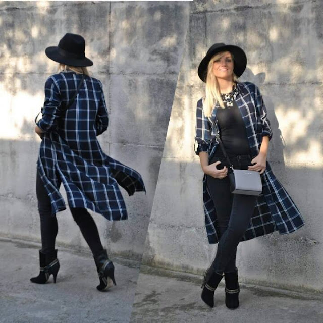 outfit jeans neri black skinny jeans maxi shirt dress cappello fedora fedora hat best outfit 2015 outfit più belli del 2015 outfit inverno 2015 outfit estate 2015 look più belli del 2015 best dresses 2015 mariafelicia magno fashion blogger colorblock by felym fashion blog italiani fashion blogger italiane blog di moda blogger italiane di moda fashion blogger bergamo fashion blogger milano fashion bloggers italy italian fashion bloggers influencer italiane italian influencer  outfit 2015 street style best street style 2015