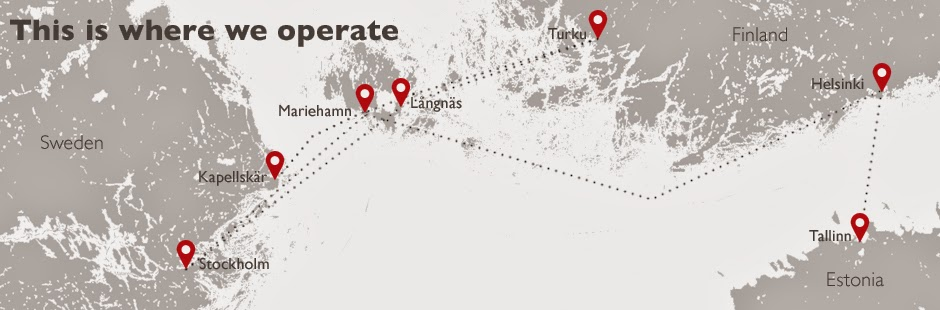 viking line map