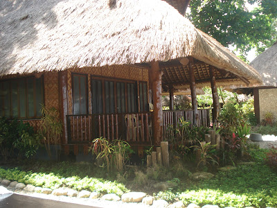 big cottage in Lalimar Beach Resort in Negros Occidental