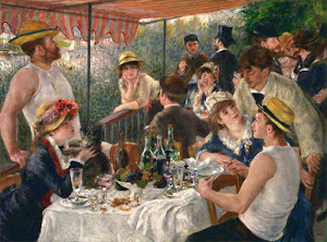 The Luncheon of the Boating Party (1881) By Pierre Auguste Renoir