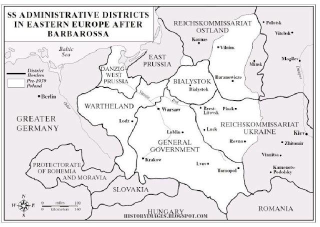 Einsatzgruppen administration  Russia  Nazi exterminators