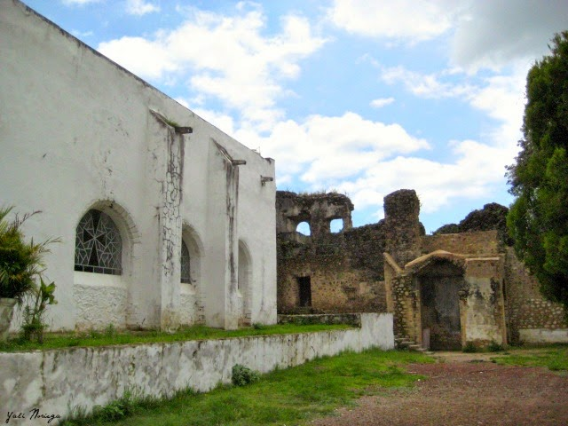 convent trail ocuituco morelos mexico