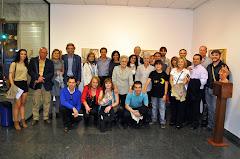 Grupo en la exposición