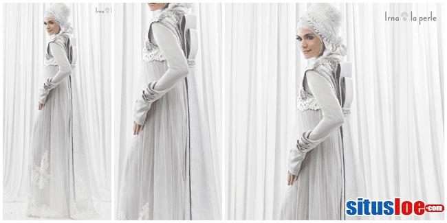 5 Model Gaun Pengantin Muslimah Elegan