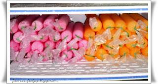 ... bagaiman rupa dan bentuknya, berikut ini cara membuat es lilin buah