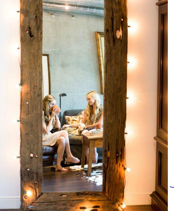 Piso compartido en los ngeles dos en la pasarela for Espejo horizontal salon