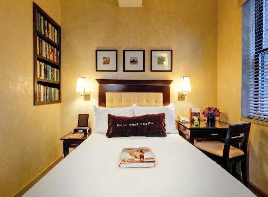 Library hotel in Manhattan
