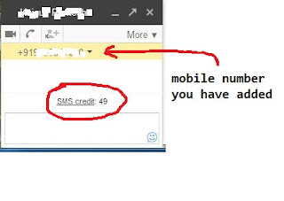 Send Free Sms with Gmail to any Mobile number