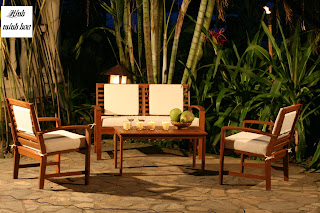 Sofa wood Outdoor Furniture Vietnam