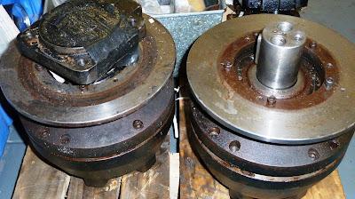 Ransomes wheel motor 8000290 - MHA125BB101BD