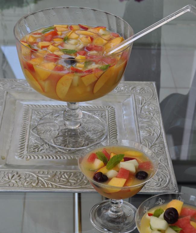 La guarida de bam ideas con frutas frescas - Como hacer coctel de frutas ...