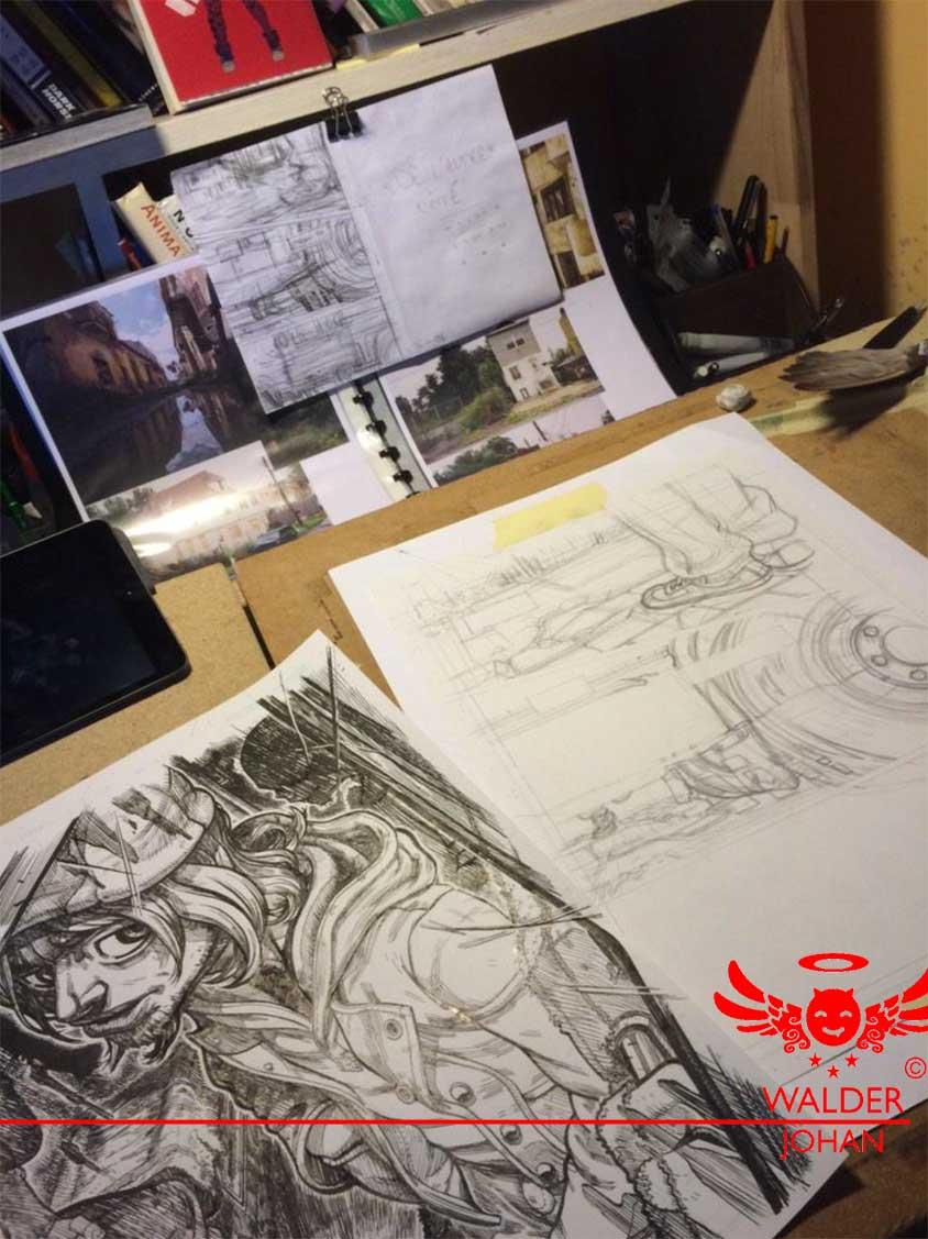 Vous pouvez voir la documentation importante pour chaque décors et mise en scène.